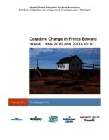 Coastline Change in Prince Edward Island, 1968-2010 and 2000-2010