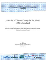 An Atlas of Climate Change for the Island of Newfoundland