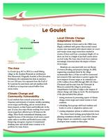 Adapting to Climate Change: Coastal Flooding, Le Goulet