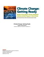 Climate change: Getting ready