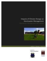 Impacts of Climate Change on Stormwater Management: Stormwater Management Plan Update
