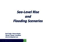 Sea-Level Rise and Flooding Scenarios