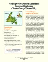 Helping NL communities assess climate change vulnerability