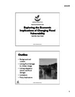 Exploring the Economic Implications of Changing Flood Vulnerability