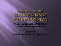 Stratford Climate Change Adaptation Plan