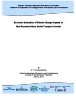 Economic Evaluation of Climate Change Impacts on New Brunswick-Nova Scotia Transport Corridor