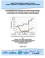 Forecasting Economic Damages from Storm Surge Flooding: A Case Study in the Tantramar Region of New Brunswick