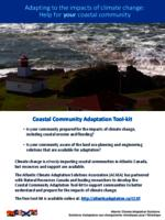 Adapting to the impacts of climate change: Help for your coastal community