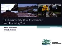 PEI Community Risk Assessment and Planning Tool