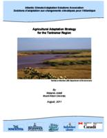 Agricultural Adaptation Strategy for the Tantramar Region (cover, and table of contents)
