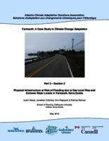 Yarmouth: A Case Study in Climate Change Adaptation: Part 2 – Section 2       Physical Infrastructure at Risk of Flooding due to Sea Level Rise and Extreme Water Levels in Yarmouth, Nova Scotia