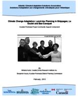 Climate Change Adaptation: Land-Use Planning in Shippagan, Le Goulet and Bas-Caraquet