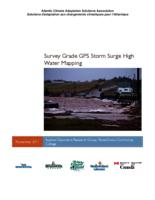 Survey Grade GPS Storm Surge High Water Mapping