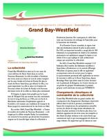 Adaptation aux changements climatiques : inondations, Grand Bay-Westfield
