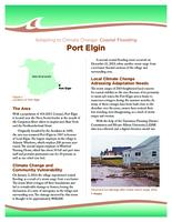 Adapting to Climate Change: Coastal Flooding, Port Elgin