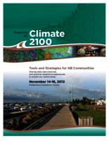 Preparing for Climate 2100 Tools and Strategies for NB communities