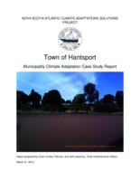 Municipality Climate Adaptation Case Study Report: Town of Hantsport