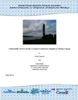 Vulnerability of Nova Scotia's Coastal Groundwater Supplies to Climate Change