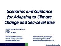 Scenarios and guidance for adapting to climate change and sea-level rise