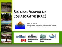 REGIONAL ADAPTATION COLLABORATIVE (RAC)