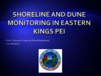 Shoreline and Dune Monitoring in Eastern Kings PEI