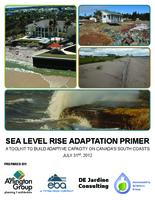 Sea level rise adaptation primer: A toolkit to build adaptive capacity on canada's south coasts