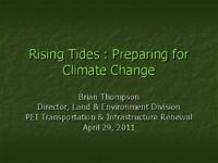 Rising Tides : Preparing for Climate Change