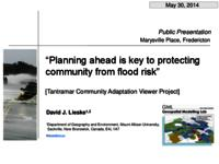 Planning ahead is key to protecting community from flood risk