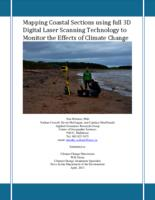 Mapping Coastal Sections using full 3D Digital Laser Scanning Technology to Monitor the Effects of Climate Change