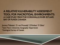 A Relative Vulnerability Assessment Tool for Macrotidal Environments: A Case Study from the Cornwallis River Estuary, Bay of Fundy, Canada