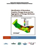 Identification of Anomalous Coastline change areas 1968-2010 and 2000-2010 and the aggregation of change attributes for littoral cell polygons