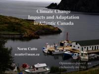 Climate Change Impacts and Adaptation in Atlantic Canada