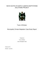 Town of Windsor:  Municipality Climate Adaptation Case Study Report