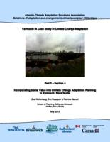 Yarmouth: A Case Study in Climate Change Adaptation: Part 2 – Section 4 - Incorporating Social Value into Climate Change Adaptation Planning in Yarmouth, Nova Scotia