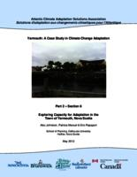Yarmouth: A Case Study in Climate Change Adaptation: Part 2 – Section 6 - Exploring Capacity for Adaptation in the Town of Yarmouth, Nova Scotia